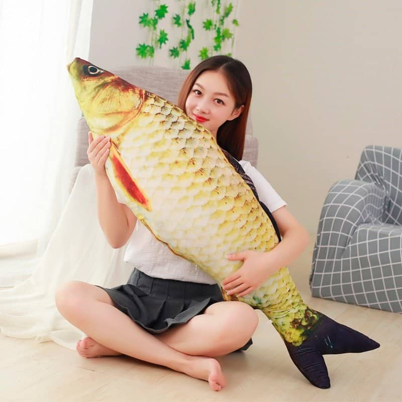 Kawaii Crucian Fish Stuffed Animal Toy 5