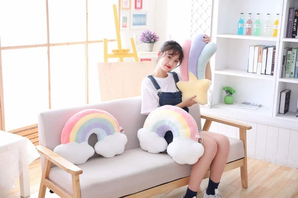 Kawaii Sky Plush Pillow