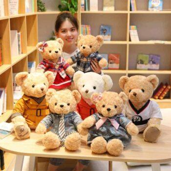 Lovely Couple Teddy Bear 3
