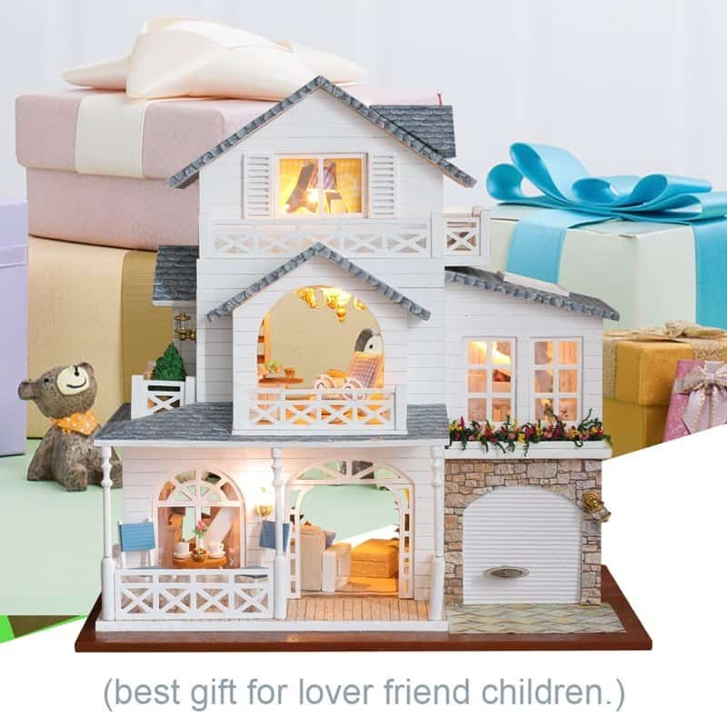 Nordic Town Doll House