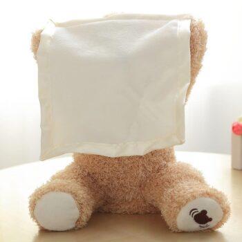 30cm Peek A Boo Teddy Bear