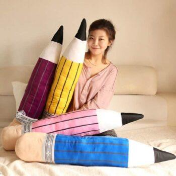 Pencil Plush Pillow