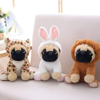 Cute Pug Dog Stuffed Animal Toy