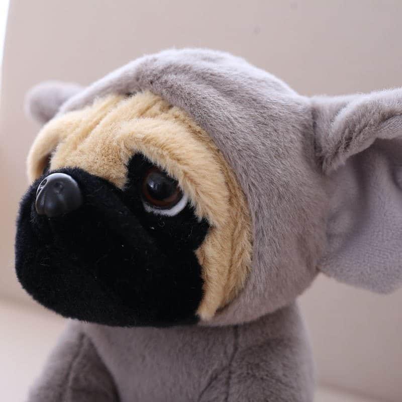 Pug Stuffed Animal Toy