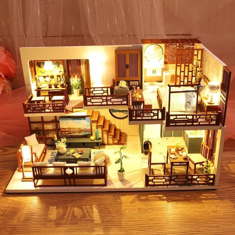 Quiet Time Doll House 1