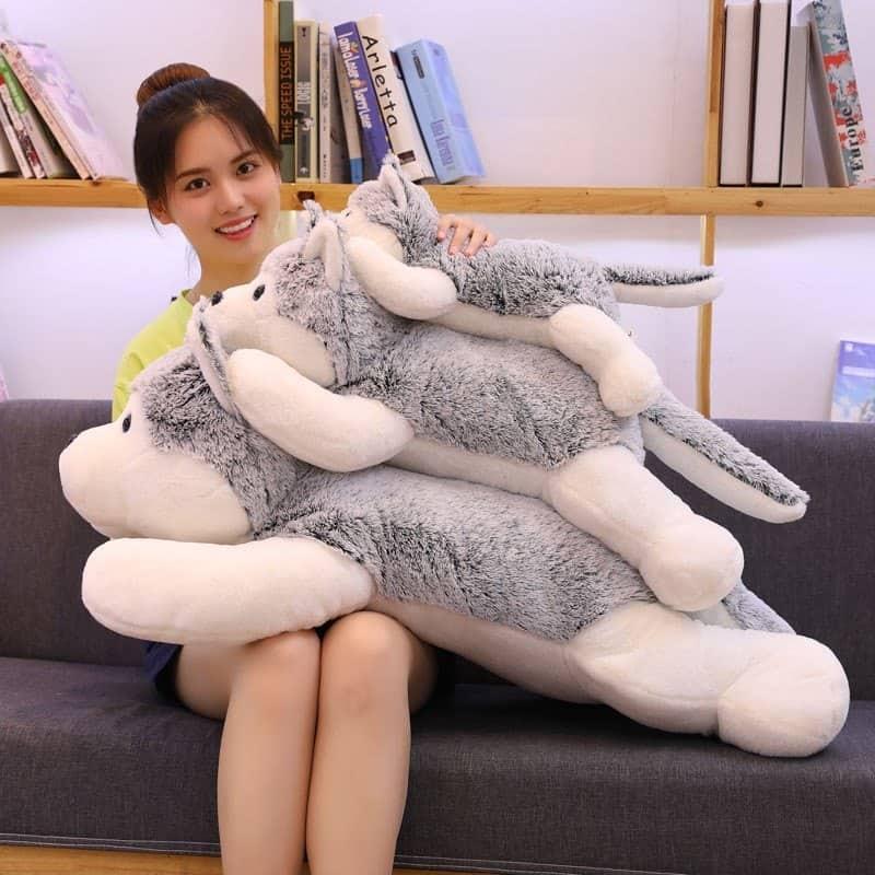 Siberian Husky Stuffed Animal Toy 2