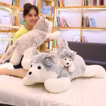 Cute Siberian Husky Plush