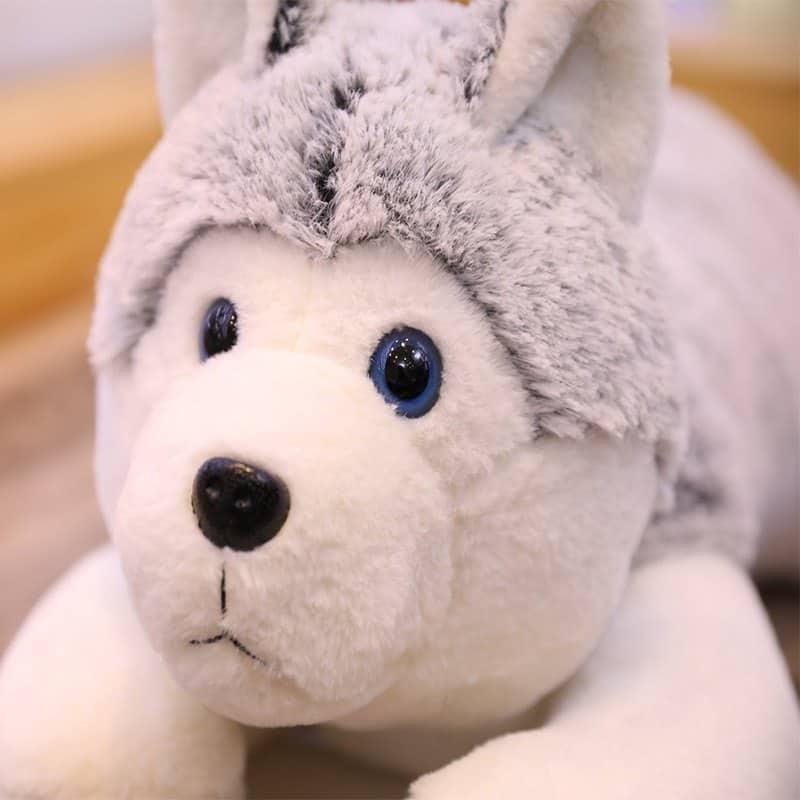 Siberian Husky Stuffed Animal Toy 4