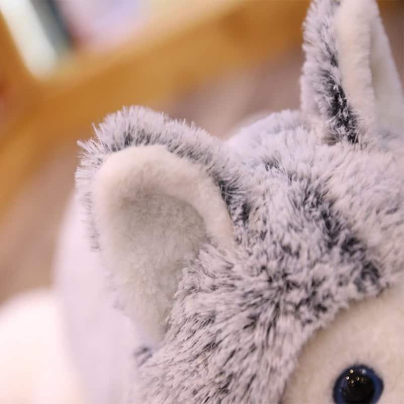 Siberian Husky Stuffed Animal Toy 5