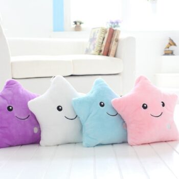 Star Plush Pillow
