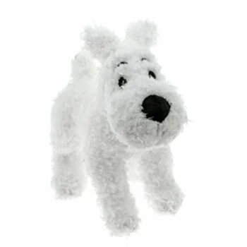 The Adventures of Tintin Snowy Dog Stuffed Animal Toy