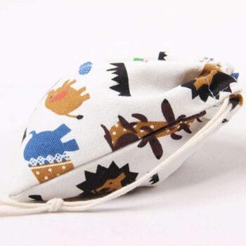 Animal Print Drawstring Bag 4