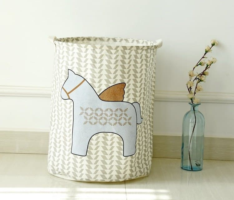 Horse Cartoon Design Toy Storage 4