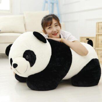 Cute Giant Baby Panda Bear Plush 0