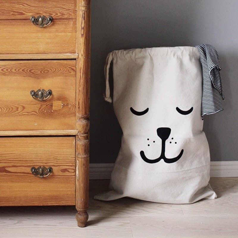 Cartoon Design Drawstring Toy Storage 5