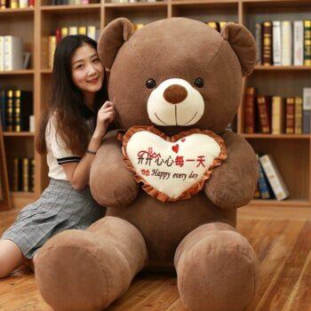Giant I Love You Teddy Bear 0