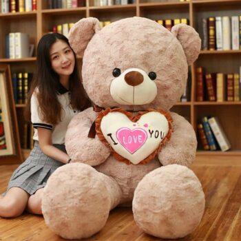 Giant I Love You Teddy Bear 1