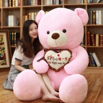 Giant I Love You Teddy Bear 2