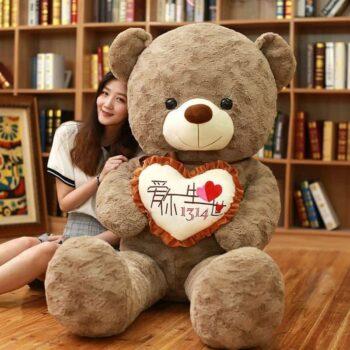 Giant I Love You Teddy Bear 3