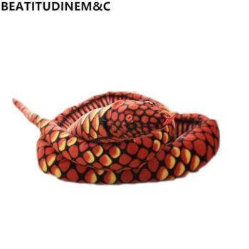 Giant Snake Stuffed Animal Toy 0