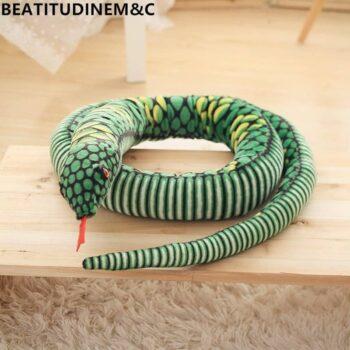 Giant Snake Stuffed Animal Toy 1
