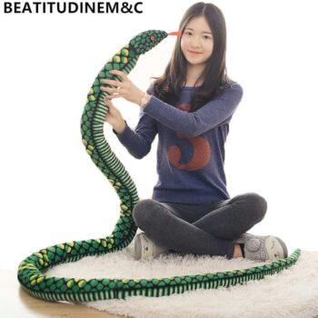 Giant Snake Stuffed Animal Toy