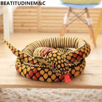 Giant Snake Stuffed Animal Toy 3