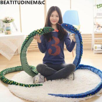 Giant Snake Stuffed Animal Toy 4