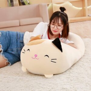 Relaxing on a Large Sumikko Gurashi Plush