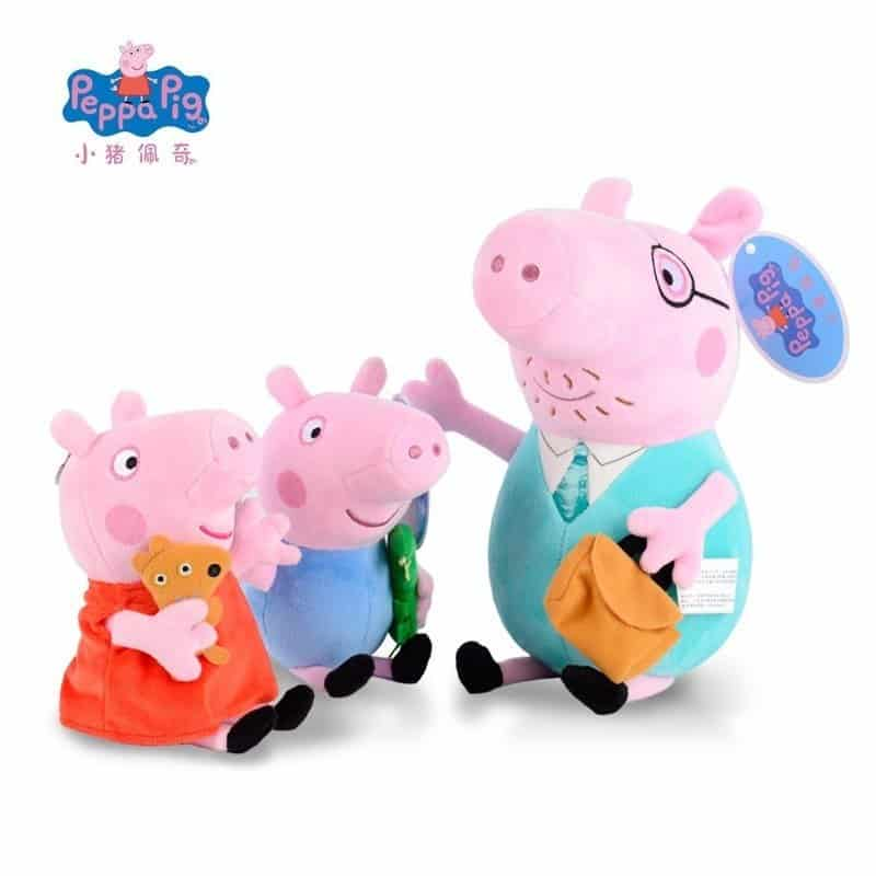 Peppa Pig and Family Plush Toy 1