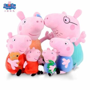 Peppa Pig and Family Plush Toy