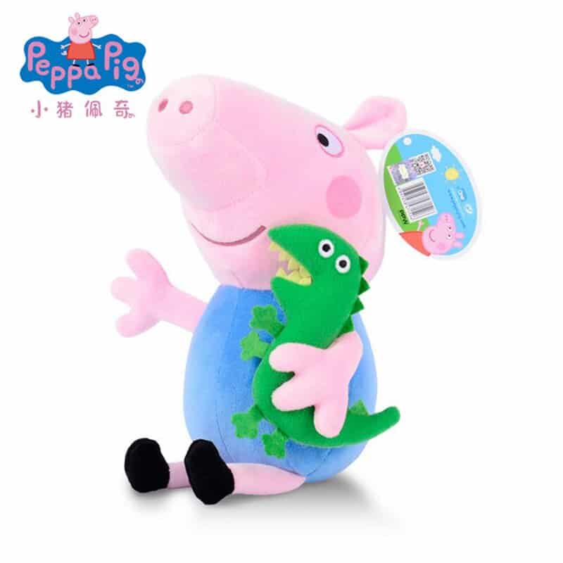 Peppa Pig and Family Plush Toy 2