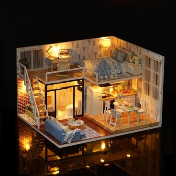 Blue Time Doll House