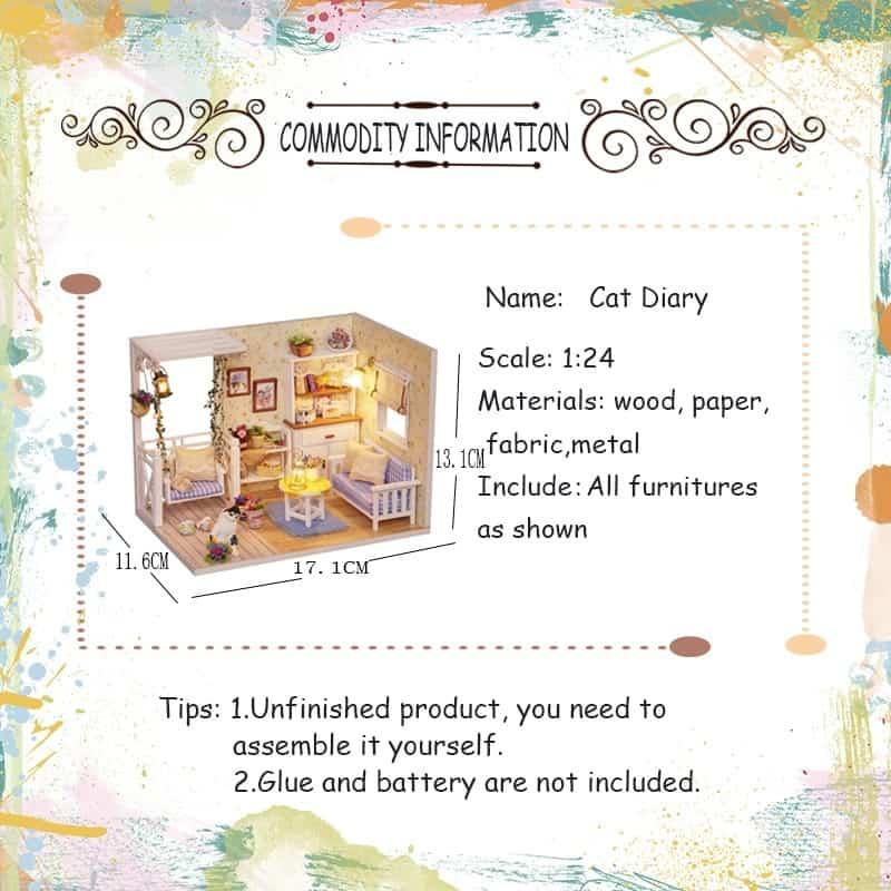 Cat Diary Doll House 1