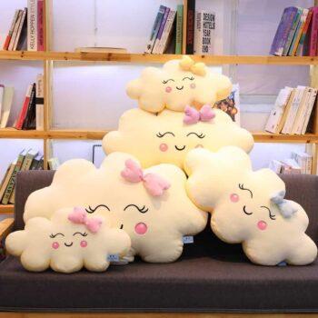 Giant Kawaii Cloud Plush Pillow 0