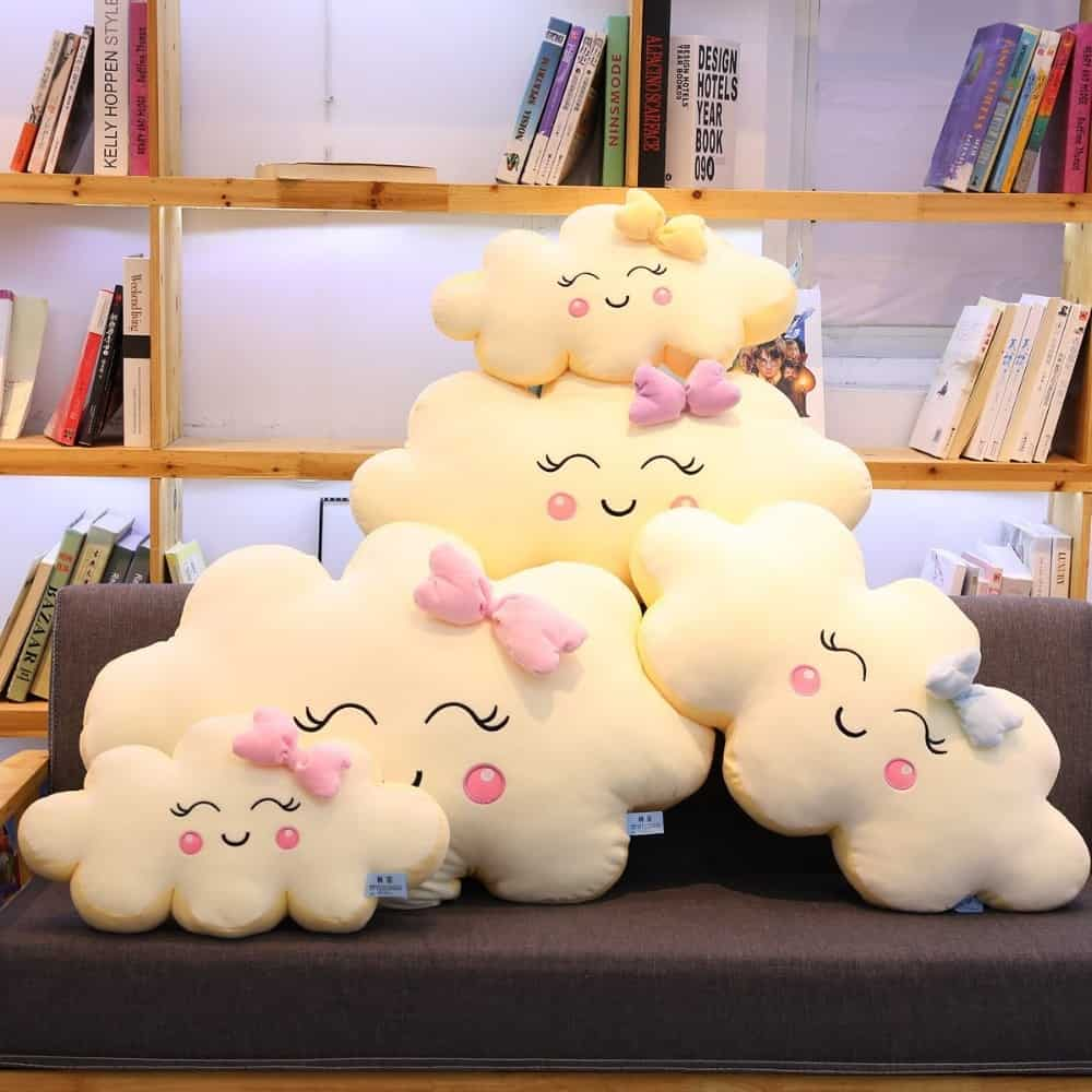 Giant Kawaii Cloud Plush Pillow 1