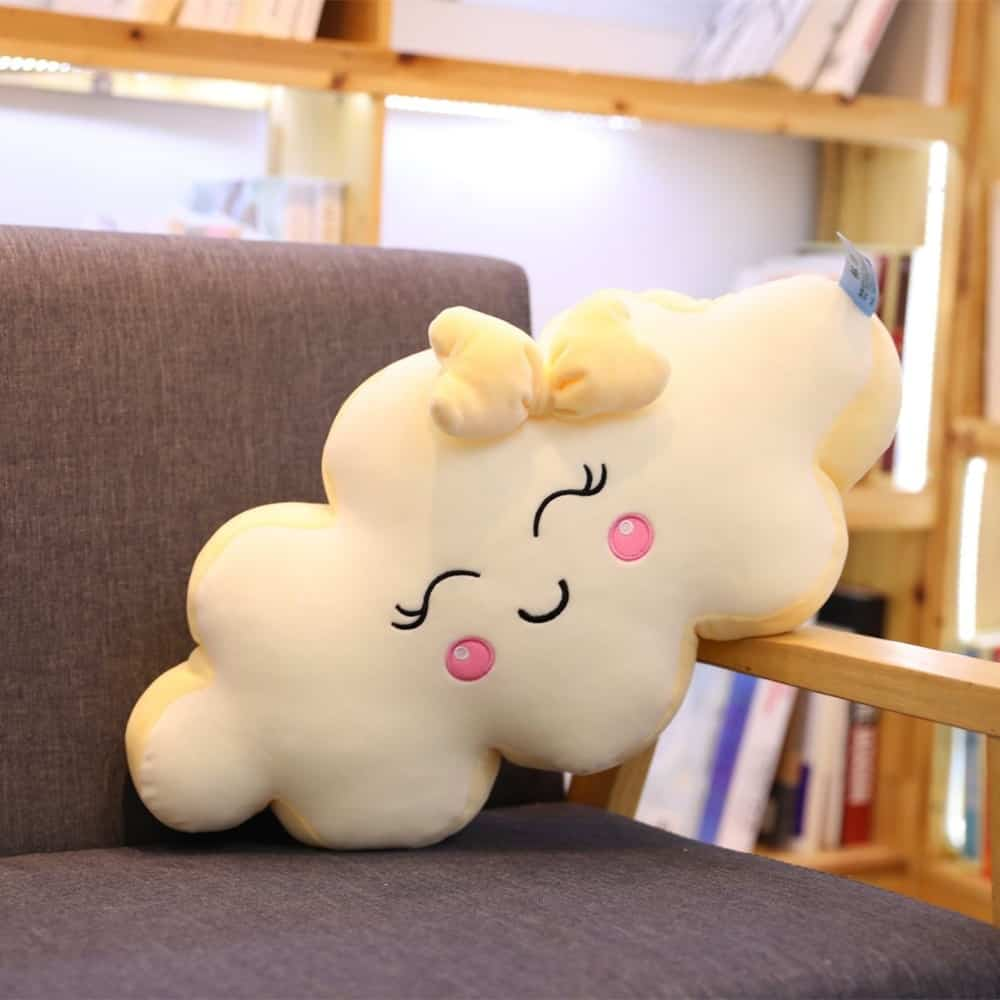 Giant Kawaii Cloud Plush Pillow 2
