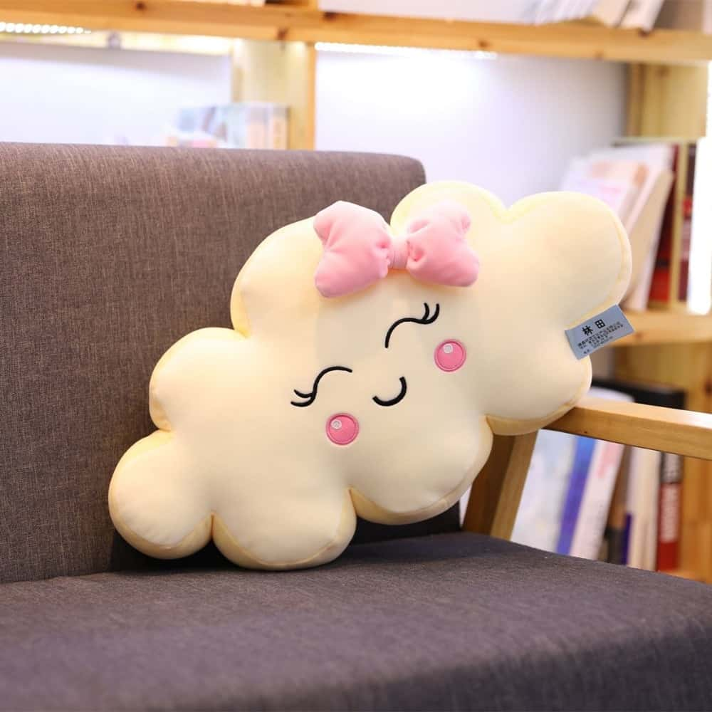Giant Kawaii Cloud Plush Pillow 3