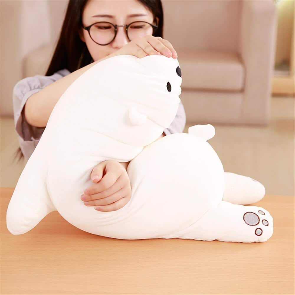 We Bare Bears Naked Plush Toy 2