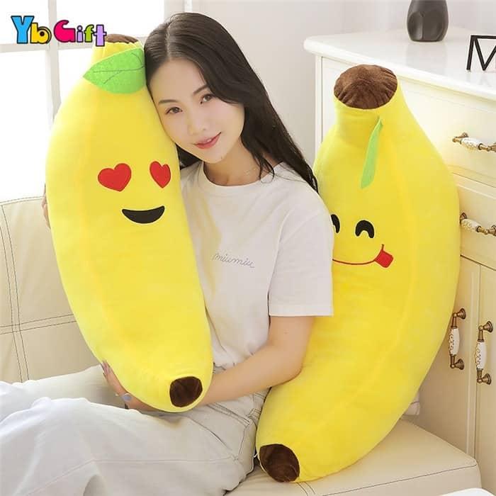 Cute Banana Plush Pillow 1
