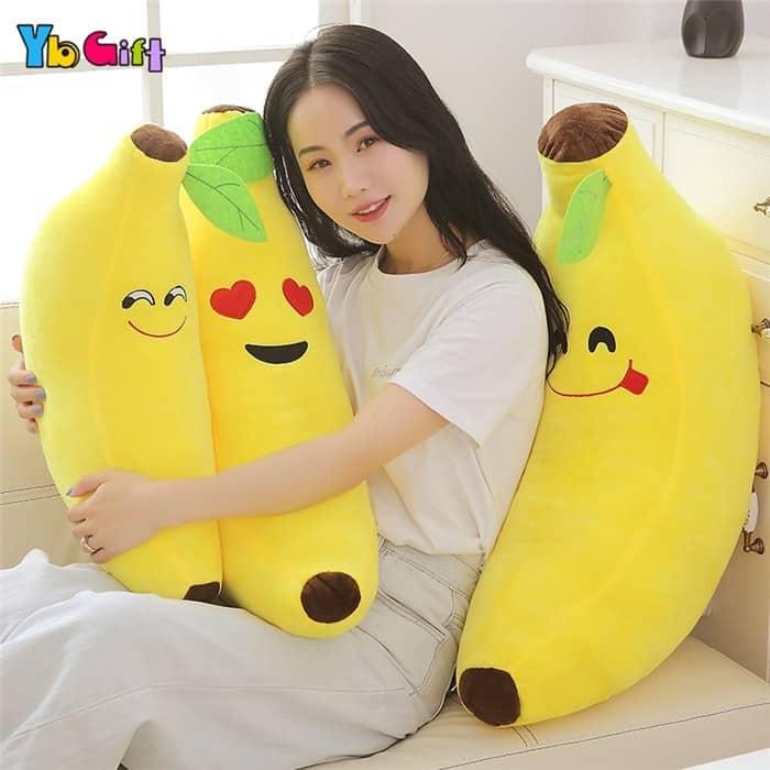 Cute Banana Plush Pillow 2