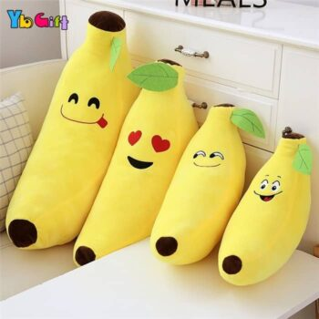 Cute Banana Plush Pillow