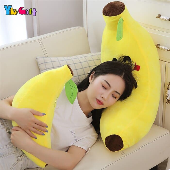 Cute Banana Plush Pillow 3