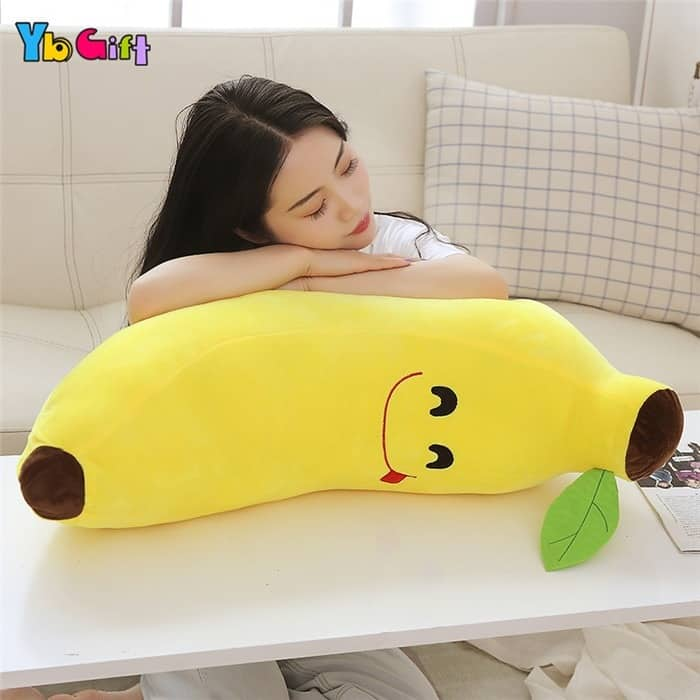 Cute Banana Plush Pillow 4