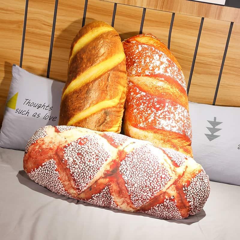 Cute Bread Plush Pillow
