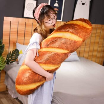 Cute Bread Plush Pillow