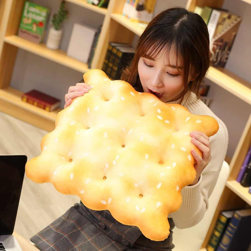Cute Cookie Plush Pillow