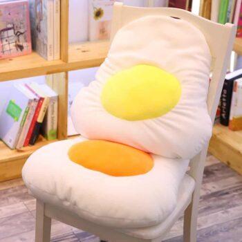 Cute Egg Plush Pillow 0