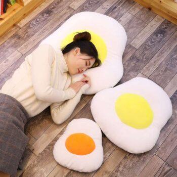 Cute Egg Plush Pillow 1