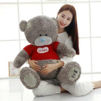Cute Gray Teddy Bear
